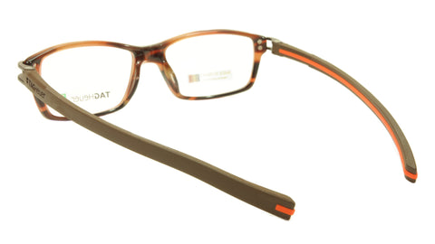 Image of Tag Heuer Eyeglasses TH 7601 002 Brown Havana Orange Chocolate 55-17-145, 34