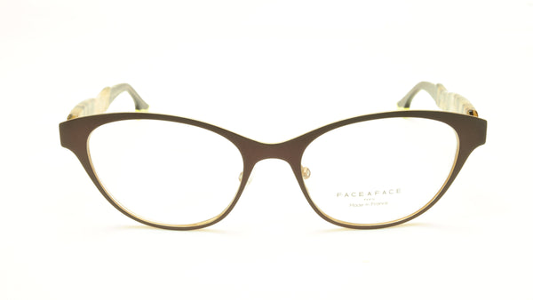 Face A Face Bocca City 3 Col. 9324 Eggplant Eyeglasses France Made 52-17-142 - Frame Bay