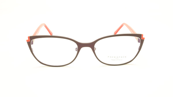 Face A Face Books 2 Col. 9560 Eyeglasses France Made 52-17-135 - Frame Bay