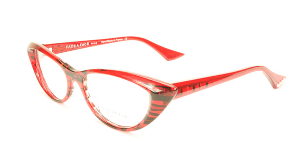 Face A Face Punk Her 2 Col. 1214 Eyeglasses France Hand Made 54-16-143 - Frame Bay
