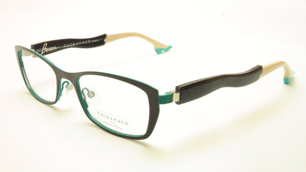 Face A Face Bocca City 2 Col. 9369 Eyeglasses France Made 49-18-140 Glasses - Frame Bay