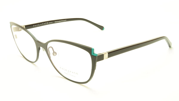 Face A Face Books 2 Col. 9657 Eyeglasses France Made 52-17-135 Glasses - Frame Bay