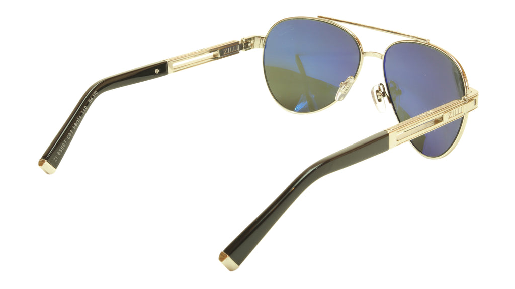 ZILLI Sunglasses Titanium Hand Made Acetate Polarized France ZI 65007 C02 510