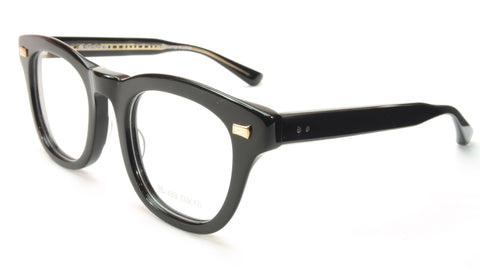 Image of 35/139 Tokyo KURO 111-0008 Eyeglasses Frame Shiny Black 49-23-145 Made in Japan