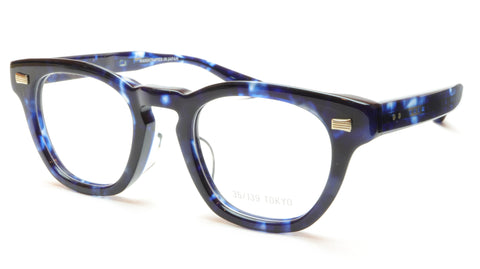35/139 Tokyo AI 111-0007A Eyeglasses Frame Crystal Blue 47-22-145 Made in Japan - Frame Bay