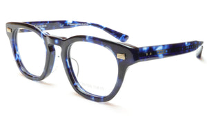 35/139 Tokyo AI 111-0007A Eyeglasses Frame Crystal Blue 47-22-145 Made in Japan