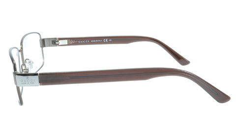 Gucci Eyeglasses Frame GG 1942 RQ5 Brown Metal Acetate Italy Made 55-17-135, 35