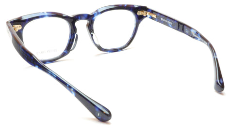 Image of 35/139 Tokyo AI 111-0007A Eyeglasses Frame Crystal Blue 47-22-145 Made in Japan