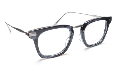 Image of 35/139 Tokyo SUMI 107-0006A Eyeglasses Frame Black Crystal Chrome 49-23-145 Japan Made