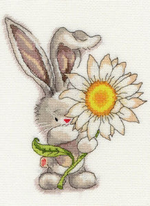 'Bebunni-Daisy' Cross Stitch-XBB1