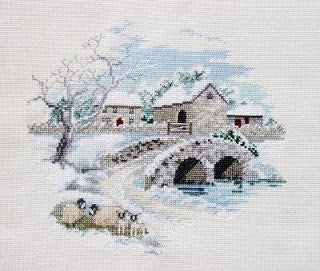 Winterbourne Farm - Cross Stitch