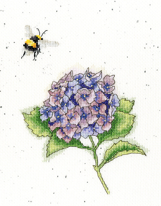 Wrendale 'The Busy Bee' Cross Stitch Kit