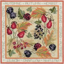 Bothy Threads Four Seasons - Autumn Cross Stitch Kit