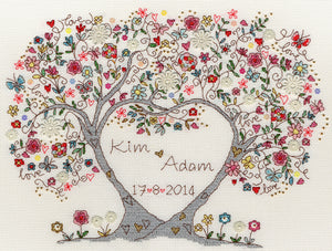 Love Blossom Cross Stitch Kit