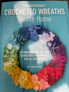 Crochet Wreaths for the Home