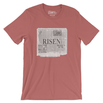 """Good News"" - Women's Classic Cotton Tee - Walk by Faith Apparel"
