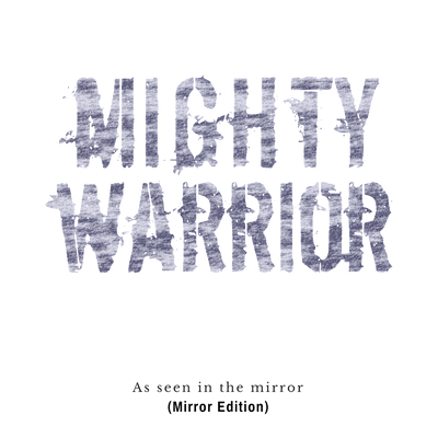 """Mighty Warrior"" - (Mirror Edition) - Men's Triblend Tee - Walk by Faith Apparel"