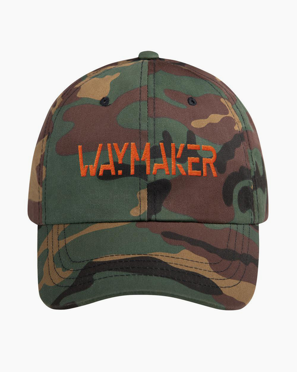 WAYMAKER - Classic Dad Hat (Camo)