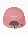 """WAYMAKER"" - Classic Dad Hat (Pink)"