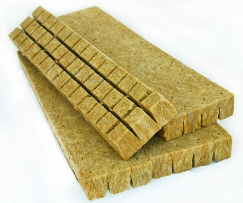 "Rockwool Starter Cubes (49 Cubes (1/2 Sheet of 1.5""))"