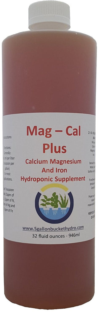 Mag-Cal Plus Hydroponic Supplement (32oz)