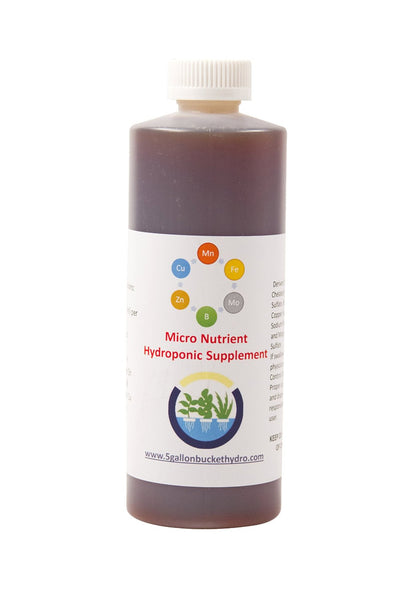 Hydroponic Micro Nutrients Supplement - 1pt