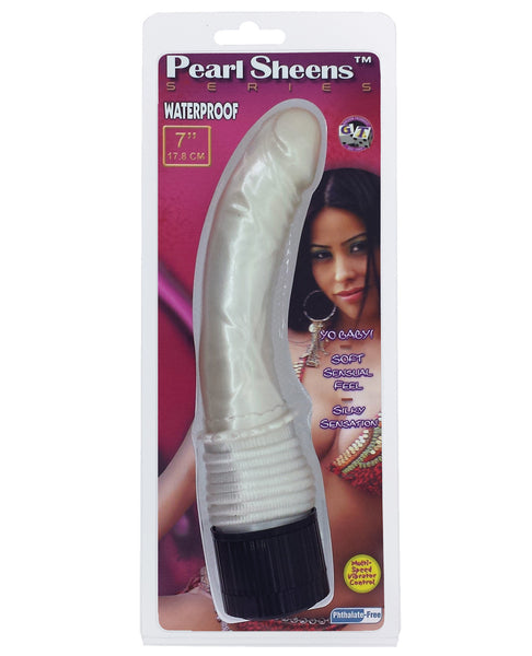"Pearl Sheens 7"" Vibe - White"