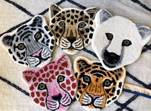 Animal Wall Hanger Rugs Doing Goods