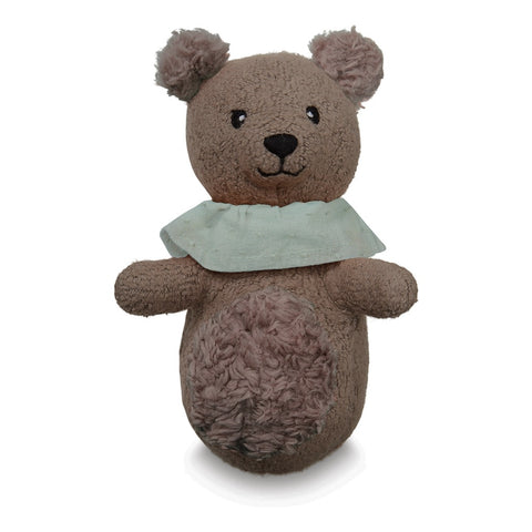 MINI SOFT TOY RATTLE - BEAR