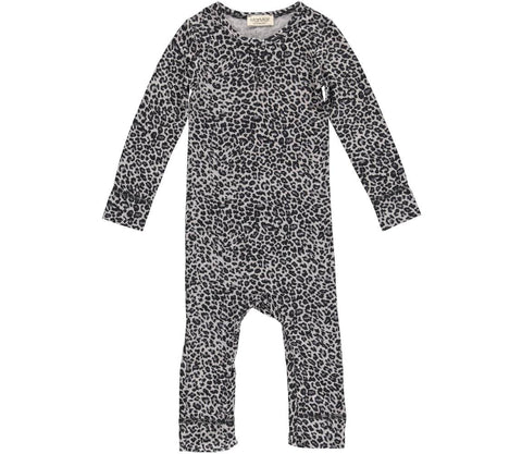BABY & TODDLER ROMPER IN LEOPARD