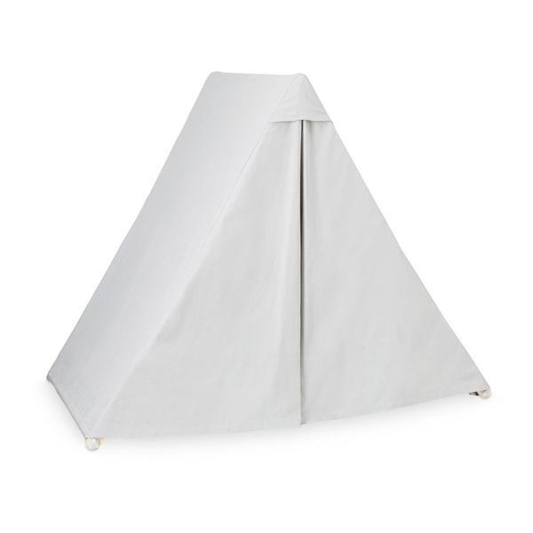 2-in-1 Play Gym & Play Tent - Pressed Leaves-CamCam-BoNordic