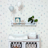 Harlequin Wall Shelf - White (Back soon - pre-order)