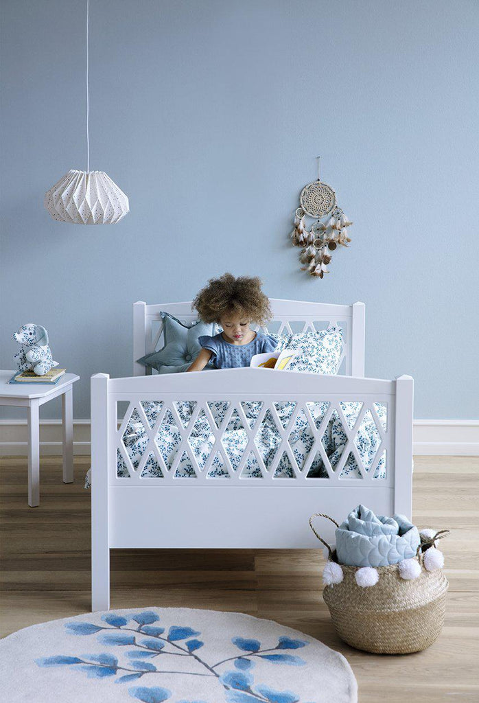 Cam Cam Copenhagen Harlequin Extendable Junior Bed Grey