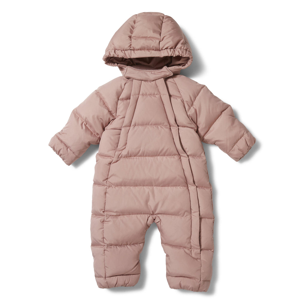 Baby Down Snowsuit - Rose Blush-Konges Sloejd-BoNordic