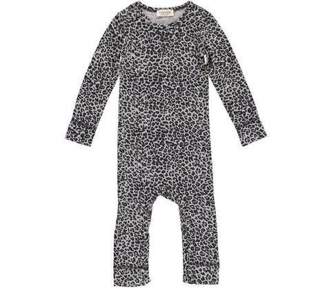 Baby & Kids Leggings in Leopard Print Grey