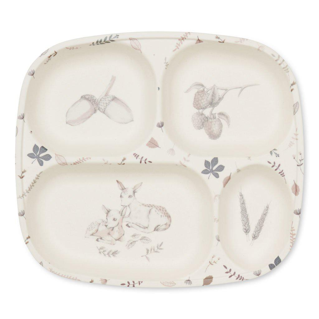 Kids Bamboo Divided Plate | Dinnerware for Kids | Cam Cam Copenhagen - BoNordic