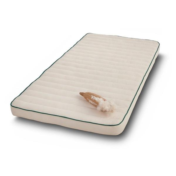 Organic Cot Mattress in Natural Kapok