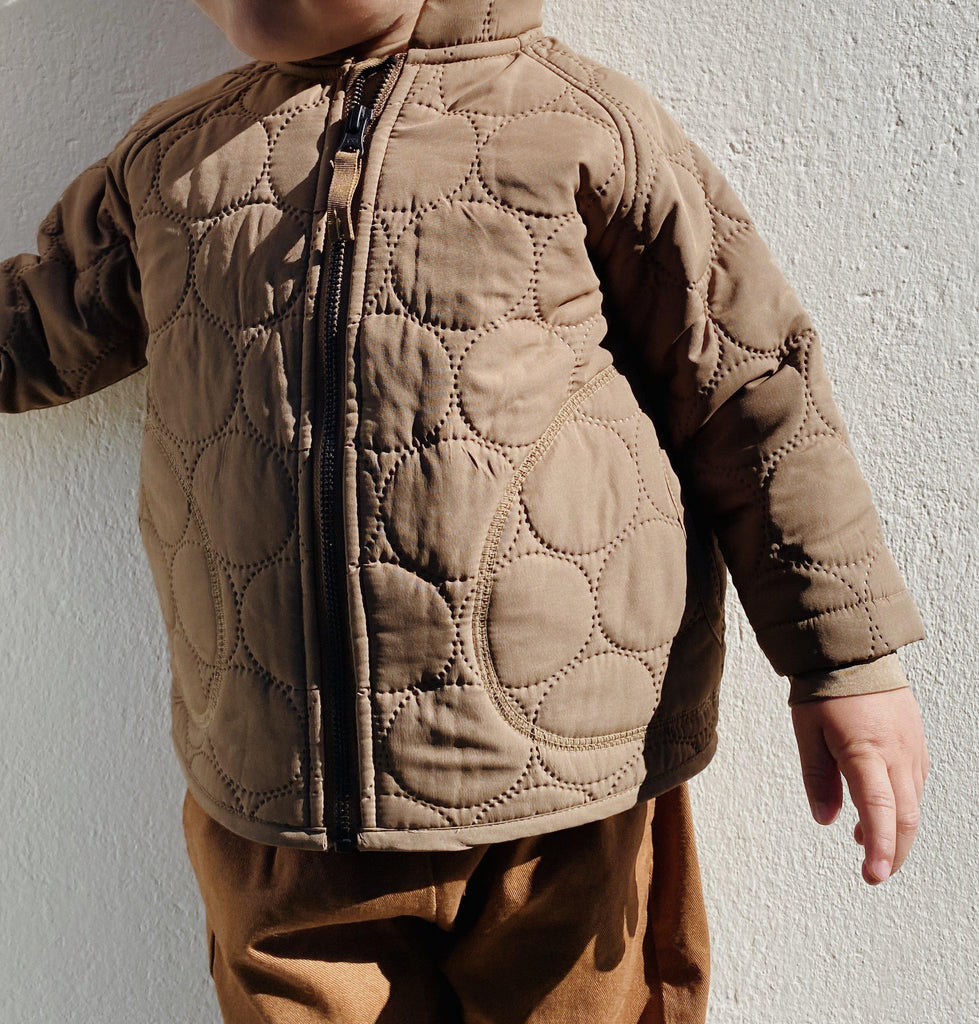 Crinkle Thermo Jacket - Walnut-Konges Sloejd-BoNordic