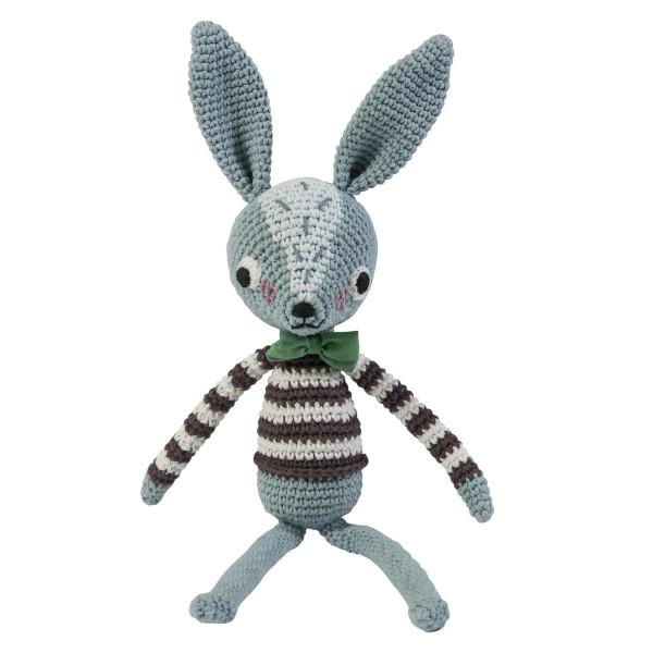 Sebra Crotchet Knitted Soft Toy Robert Rabbit