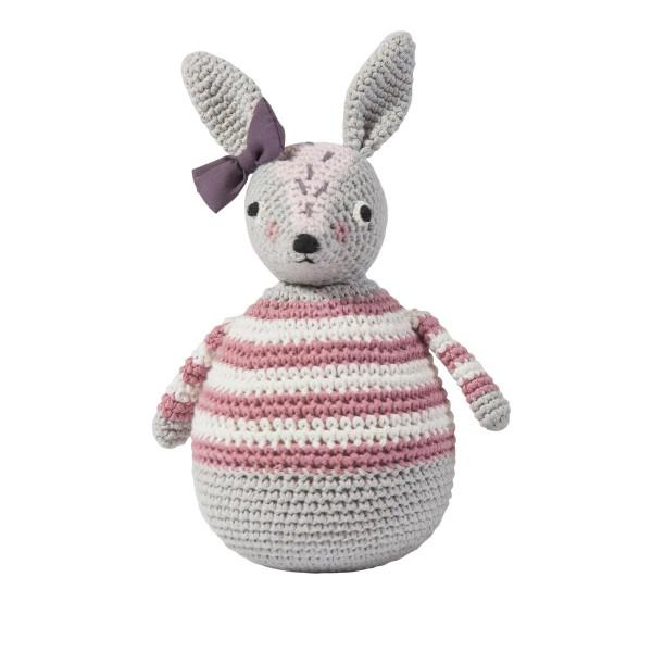 Roberta Rabbit Crotchet Toy - Danish Designer Toys by Sebra