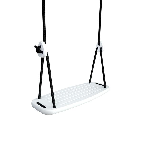 Indoor Activity Toys - wooden swing in white birch