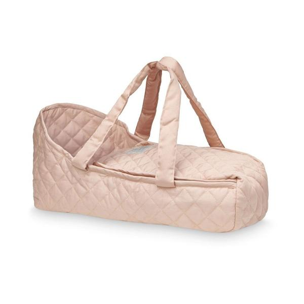 Cam Cam Dolls Carry Cot in Dusty Rose