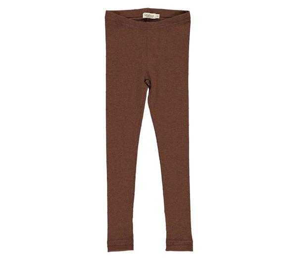 MarMar baby and toddler leggings in Cacao - Scandinavian Baby Brands - BoNordic