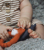 Fox Teether - Natural Rubber-Natruba-BoNordic