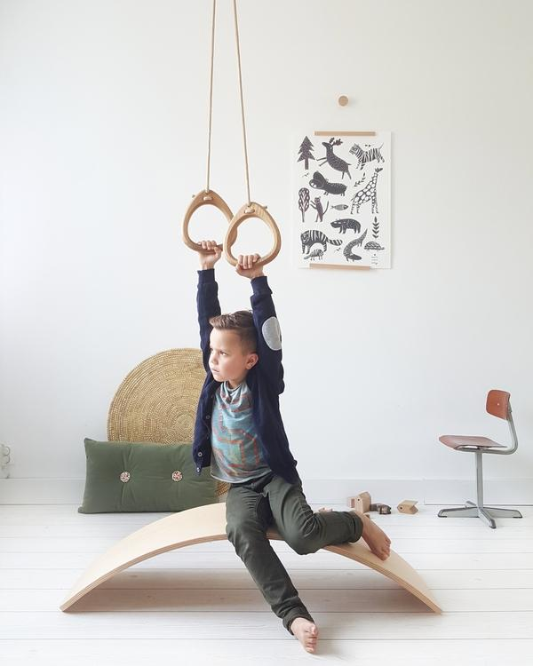 Lillagunga Wooden Swings - UK retailer BoNordic