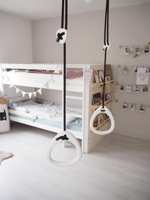 Gymnastic Rings for Indoor Use height adjustable - Lilla Gunga