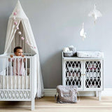 Harlequin Baby Changing Table - White-CamCam-BoNordic