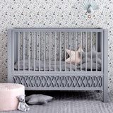 Harlequin Baby Cot Bed - White-CamCam-BoNordic