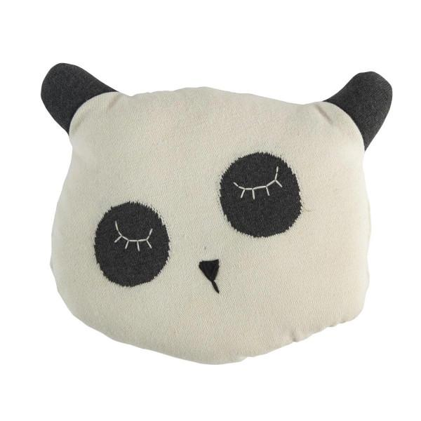 Kids Cute Knitted Panda Cushion
