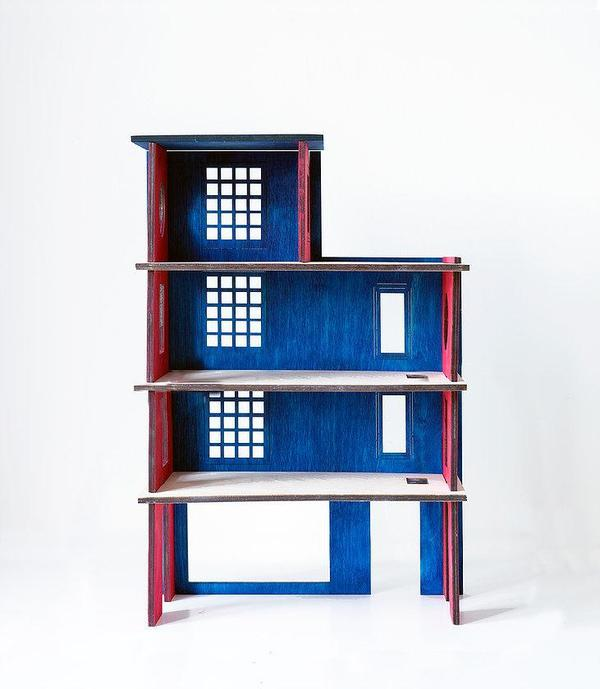 Stories in Structures kids toy garage or firestation - BONORDIC